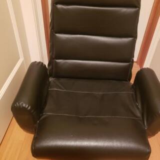 回転リクライニング座椅子