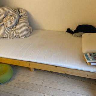 【美品】木製ベッドフレーム