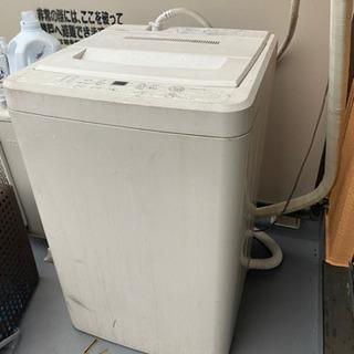 0円 2012年製無印良品の洗濯機