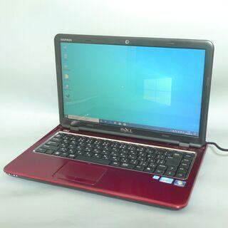 1台限定 送料無料 新品SSD搭載 レッド色 ノートパソコ…