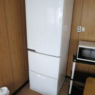 三菱冷蔵庫 MR-CU37P-W 2009年製