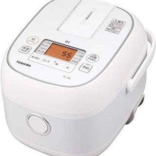 TOSHIBA 炊飯器 RC-5XN(W)