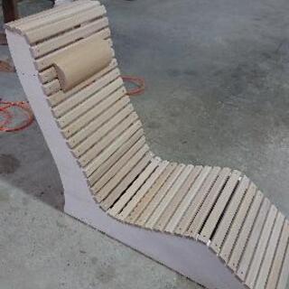 【ネット決済】木製チェア