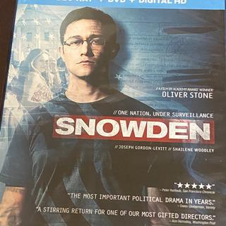 スノーデン(SNOWDEN)DVD &Blu-ray
