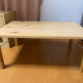 無印良品 木製ローテーブル 折り畳み可能