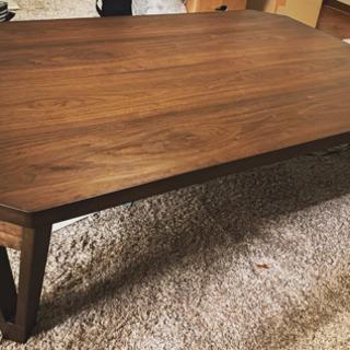 ローテーブル ダイニングテーブル リビングテーブル ウォー…
