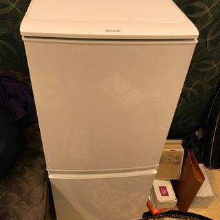 sharp冷蔵庫 2015年式 137ℓ 美品