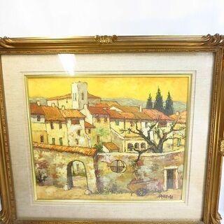油絵 絵画 J.R.GREGOIRE グレゴワール グレゴ…