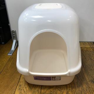 猫用トイレ フード付き