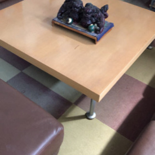四角いセンターテーブル(値下げしました)
