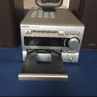 【受け渡し者決まりました】ミニコンポ、ONKYO FR-V7 CD,MD,TUNER - 家具