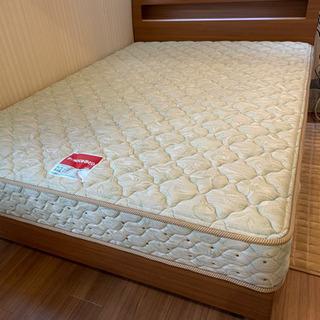 フランスベッド 傷あり ダブルベッド