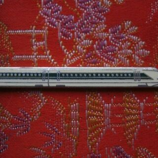 新幹線タイピン(中古 使用頻度多)