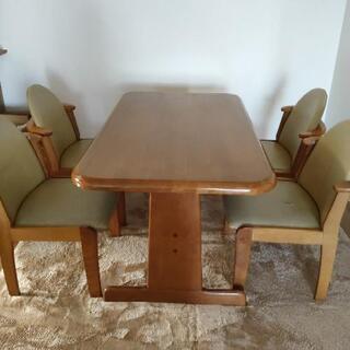 ダイニングテーブル 椅子4脚