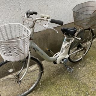 パナソニック電動アシスト自転車26インチ