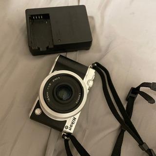 【ネット決済・配送可】Nikon NIKON 1 J5 SILVER
