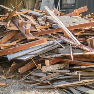 木材4トン車満載、内装解体、無料で配送!無料であげます!