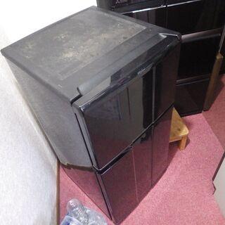 ハイアール 2ドア冷蔵庫 JR-N100C 右開き 98Lの画像