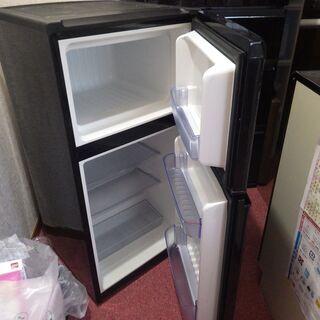ハイアール 2ドア冷蔵庫 JR-N100C 右開き 98L - 加東市