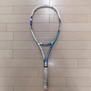 ソフトテニスラケット親子で。ボール拾い用等