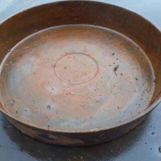 道具 工具 鉄の皿 溶解等に、1皿