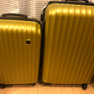 スーツケース キャリーケース 2個組 0円の画像