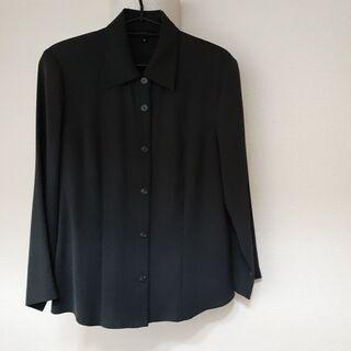 美品 3ピースパンツスーツ 墨灰 Mサイズ