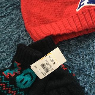 帽子、手袋 新品