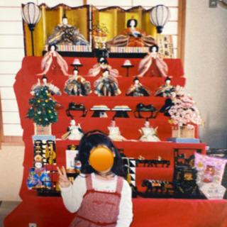 6月15日締め〆☆バラでの引き取り可☆ 七段雛飾り お雛様 雛人形