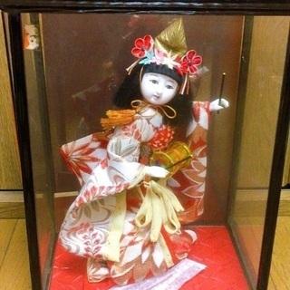 あげます!日本人形 太鼓