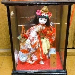 あげます!日本人形 水汲み