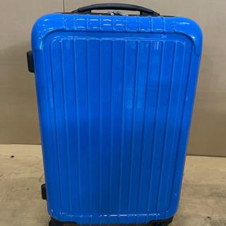 【ネット決済】【お取引決定】0520022 ブルースーツケース ...