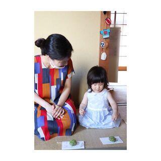未就学児からママと学べる茶道教室/ママのためのテーブル茶道教室/...