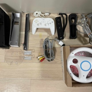 【決まりました】Wii本体 + ゲームソフト1本