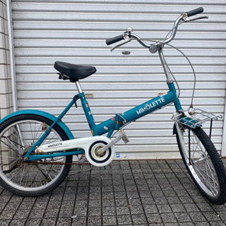 【ネット決済・配送可】【折りたたみ自転車】20インチ あさひ製 ...
