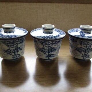 茶碗蒸し 器 新品未使用品 3個セット