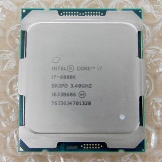 CPU intel インテル core i7 6800k 3.4...