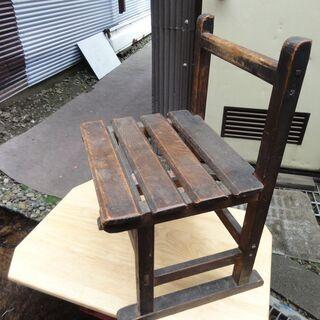 昭和初期の学校の椅子