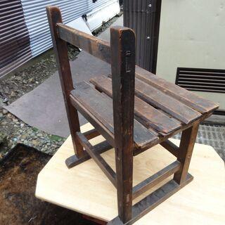 昭和初期の学校の椅子 - 新庄市