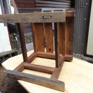 昭和初期の学校の椅子 − 山形県