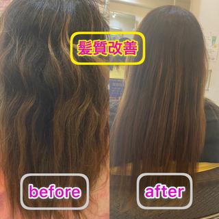 髪質改善✨✨ツヤ髪メニューご紹介‼️