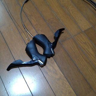 委託) ロードバイク 5800系 105 シフター 黒 ケーブル...