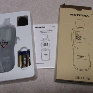 騒音計 騒音測定器 ノイズ測定器 サウンドレベルメーター 音量測...