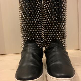 靴 ルブタン ブーツ メンズ スニーカー