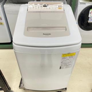 '19 Panasonic 8kg乾燥機付洗濯機 NA-FD80H6
