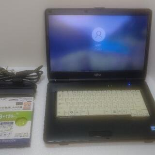 富士通ノートパソコン Windows10Pro/Core i5/...