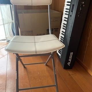 ニトリ パイプ折り畳み椅子