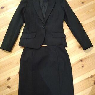 お値下げ!黒スーツ リクルート シンプル7〜9号 700円