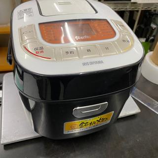 アイリスオーヤマ 炊飯器 マイコン式 3合 銘柄炊き分け機能付き...