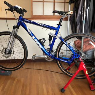 マウンテンバイク GIANT NRS3 サイクルトレーナー付き